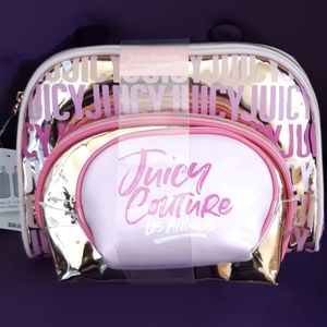 Nwt 3 dome shape juicy couture bags